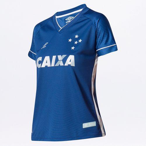 Camisa Feminina Cruzeiro Of.3 2017/18