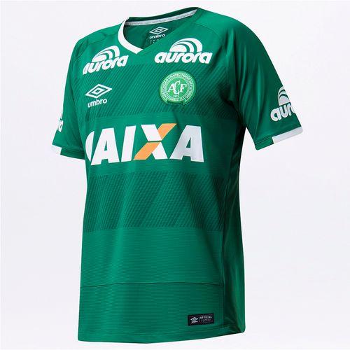 Camisa Masculina Chapecoense Of.1 2016 (S/N)