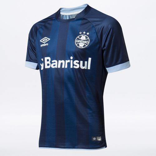 Camisa Masculina Grêmio Of.3 2017/18 (Fan)