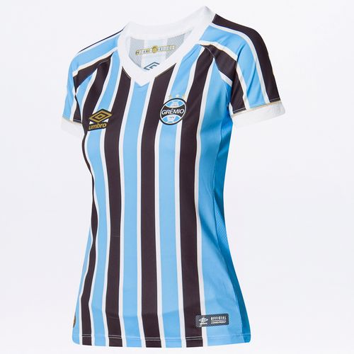Camisa Feminina Gremio Of.1 2018