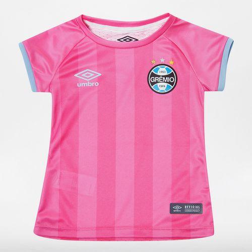 Camisa Infantil Fem. Grêmio Comemorativa Outubro Rosa 2017