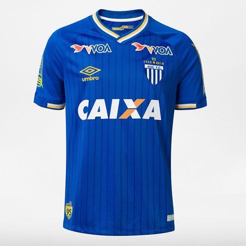 Camisa Masculina Avaí Of.3 2018 (S/N)