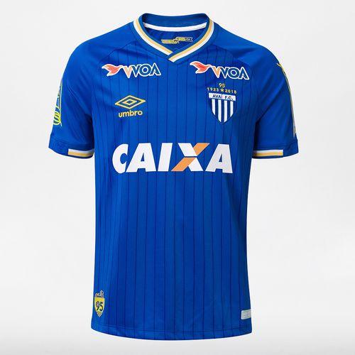 Camisa Masculina Avaí Of. 3 2018