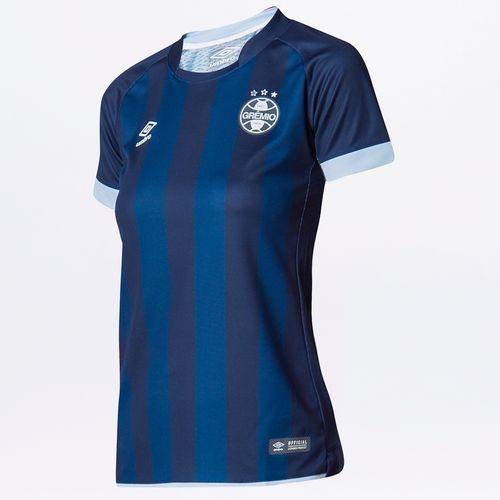 Camisa Feminina Grêmio Of.3 2017/18