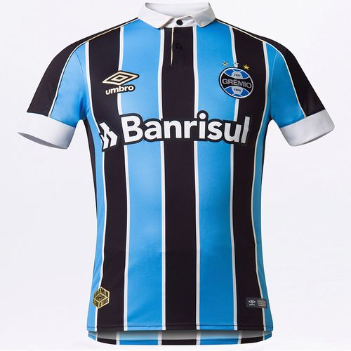 Camisa Masculina Grêmio Of.1 2019 (Classic S/N)