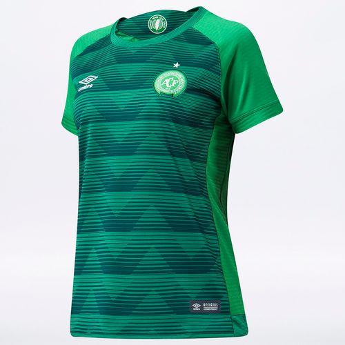 Camisa Feminina Chapecoense Of. 1 2017