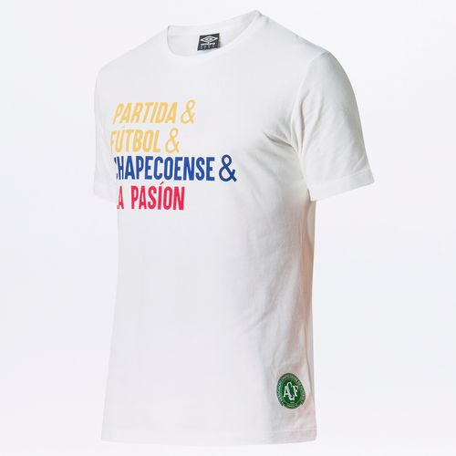 Camiseta Masculina Torcedor Chapecoense Lettering