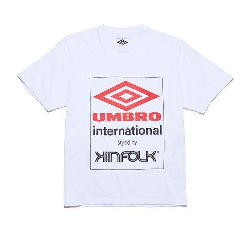 Camiseta Masculina Kinfolk X Umbro Logo