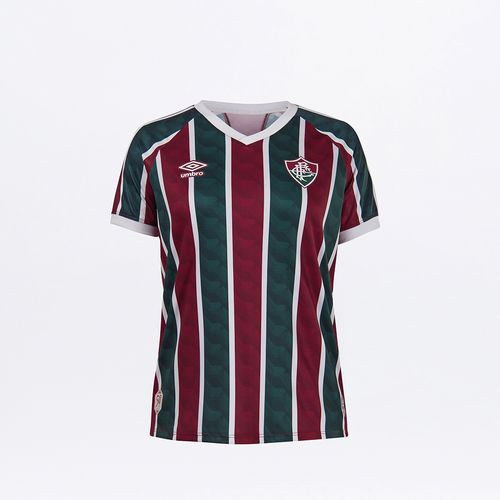 Camisa Feminina Fluminense Of.1 2020 (Torcedor)