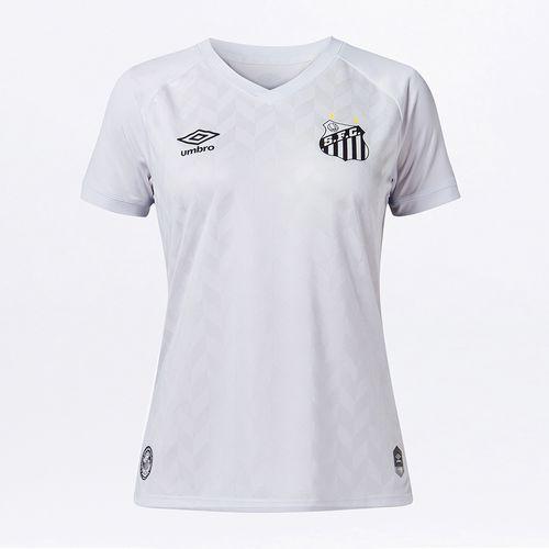 Camisa Feminina Santos Of.1 2020 (Torcedor)