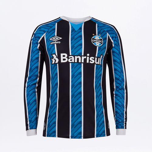 Camisa Ml Masculina Grêmio Of.1 2020 (Classic)