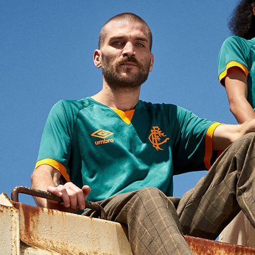 Camisa Masculina Fluminense Of.3 2020 (Classic S/N)