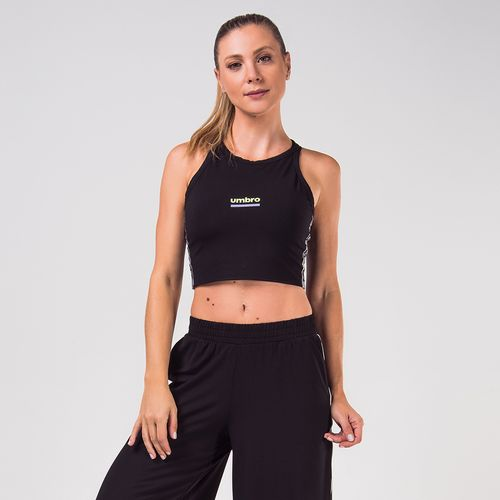 Blusa Feminina Umbro Cropped Tape