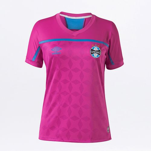 Camisa Feminina Grêmio Comemorativa Outubro Rosa 2020