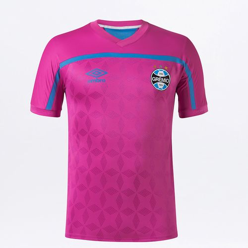 Camisa Masculina Grêmio Comemorativa Outubro Rosa 2020