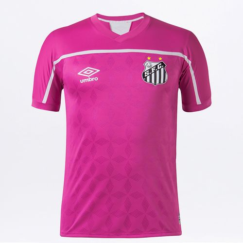 Camisa Masculina Santos Comemorativa Outubro Rosa 2020