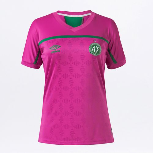 Camisa Feminina Chapecoense Comemorativa Outubro Rosa 2020