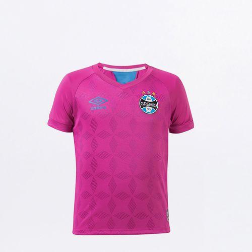 Camisa Infantil Grêmio Comemorativa Outubro Rosa 2020