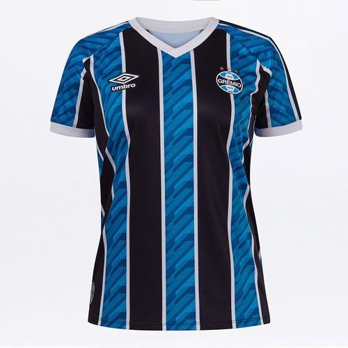 Camisa Feminina Grêmio Of.1 2020 (Torcedora)