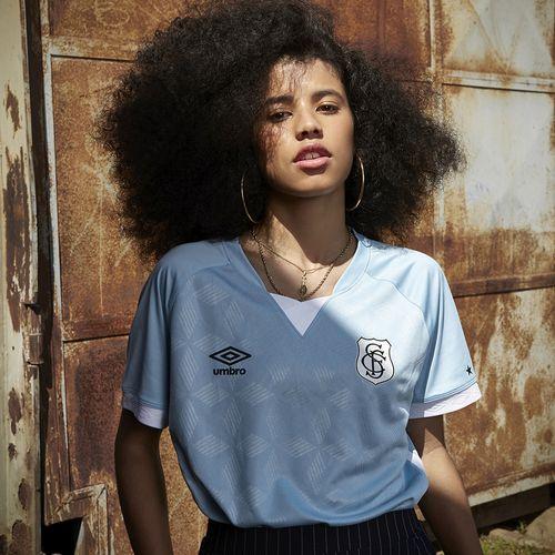 Camisa Feminina Santos Of.3 2020