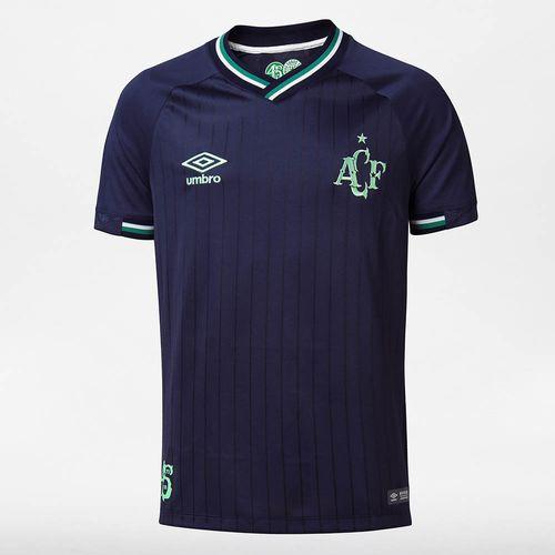 Camisa Masculina Chapecoense Of. 3 2018 (S/Pat)