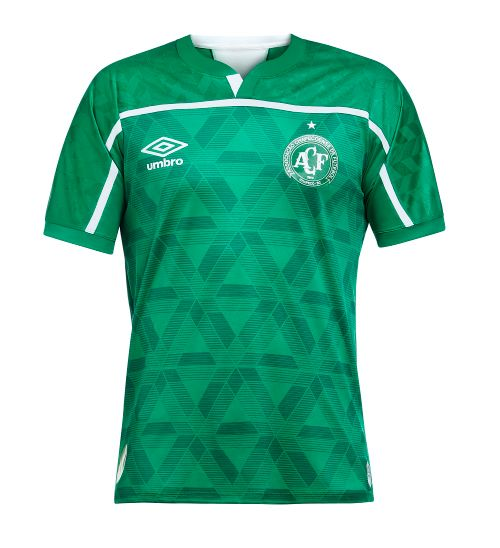 Camisa Masculina Chapecoense Of.1 2020 (Classic S/N)