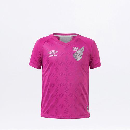 Camisa Infantil Cap Comemorativa Outubro Rosa 2020