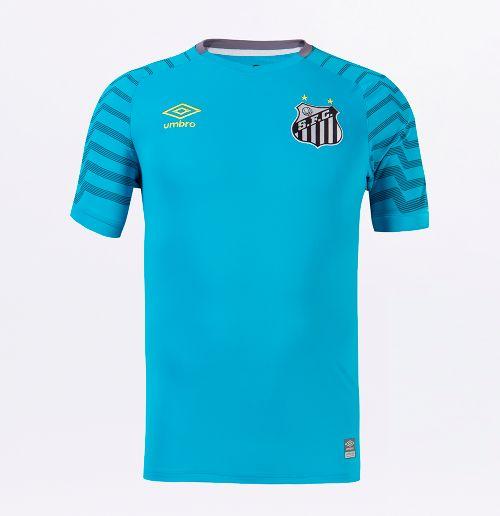 Camisa Mc Goleiro Masculina Santos Of. 2021