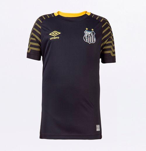 Camisa Mc Goleiro Junior Santos Of. 2021