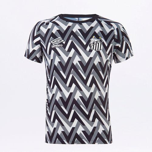 Camisa Masculina Santos Aquecimento 2021