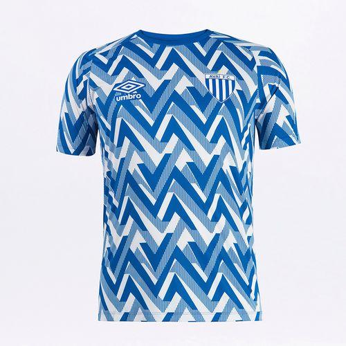 Camisa Masculina Avai Aquecimento 2021
