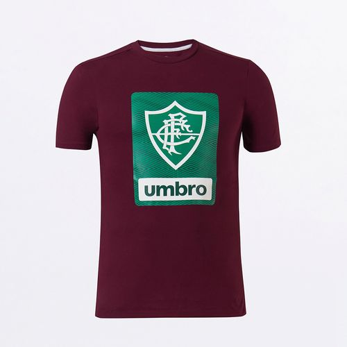 Camiseta Masculina Umbro Fluminense Concentração II 2021