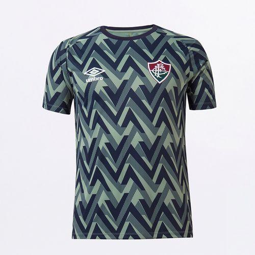 Camisa Masculina Fluminense Aquecimento 2021