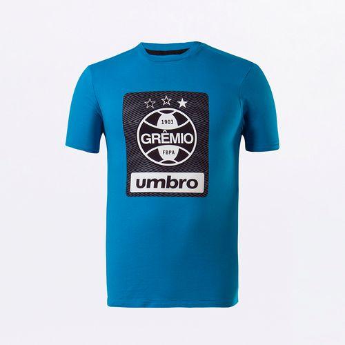 Camiseta Masculina Umbro Grêmio Concentração II 2021