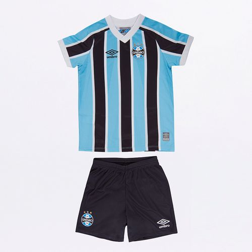 Kit Clube Infantil Umbro Gremio Of.1 2021