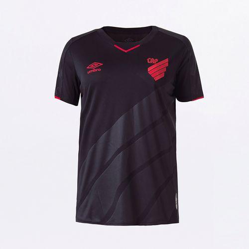 Camisa Feminina Umbro Cap Of. Black Special Edition 2020