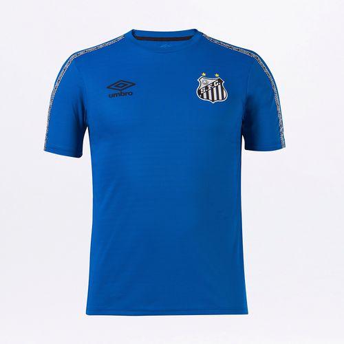 Camiseta Masculina Umbro Santos Concentração 2021
