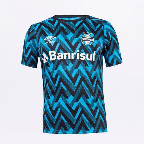 Camisa Masculina Umbro Grêmio Aquecimento 2021