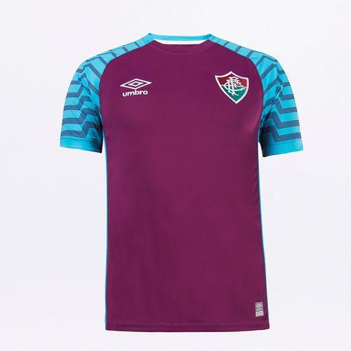 Camisa Mc Goleiro Masculina Umbro Fluminense Of 2021