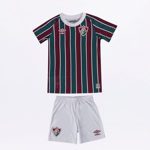 Kit Clube Infantil Umbro Fluminense Of.1 2021