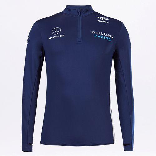 Blusa Masculina Umbro Williams Racing Mid Layer Top