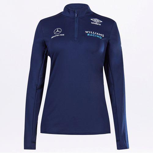 Blusa Feminina Umbro Williams Racing Mid Layer Top - Wmns
