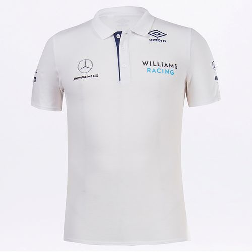 Pólo Masculina Umbro Williams Racing Media
