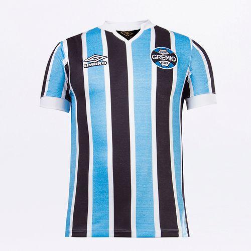 Camisa Masculina Umbro Retrô Grêmio Of.1 1981