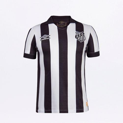 Camisa Masculina Umbro Retrô Santos Of.2 1963