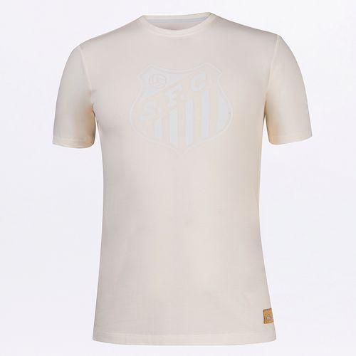 Camiseta Masculina Umbro Torcedor Retrô Santos 2021