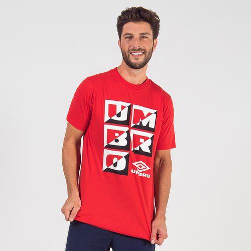 Camiseta Masculina Umbro Large Duo Square
