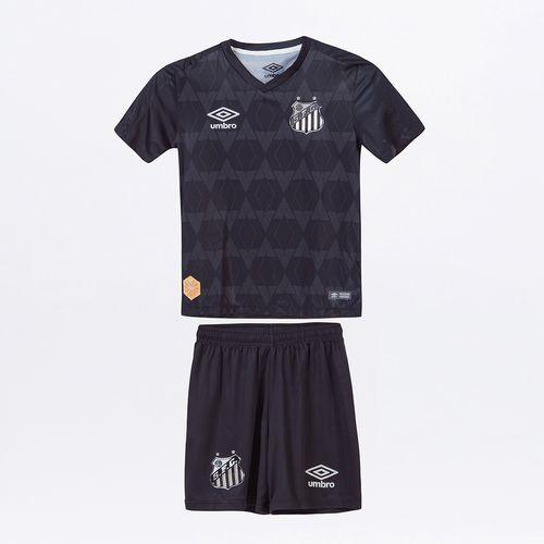 Kit Clube Infantil Umbro Santos Of.3 2019