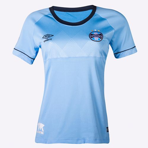Camisa Feminina Umbro Gremio Of. Charrua 2018