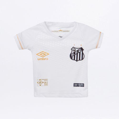 Camisa Infantil Umbro Santos Of.1 2018